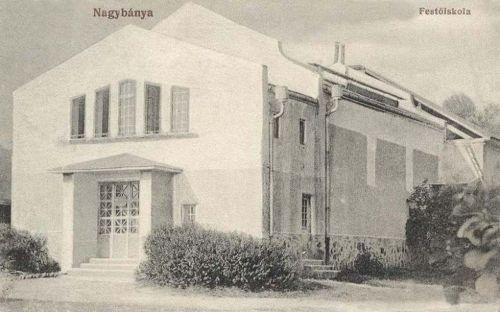 Nagybánya:művésztelep-festőiskola.1918