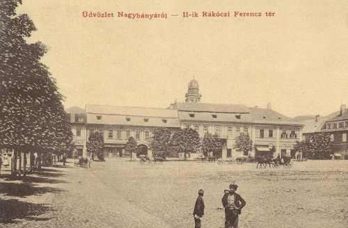 Nagybánya:II Rákóczi Ferencz tér.1908