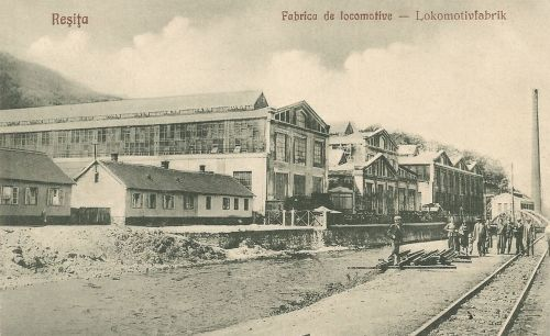 Resica:mozdony gyár.1927