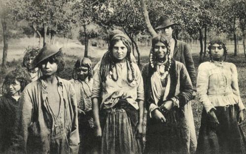 Resica:cigányok, 1911-ben.