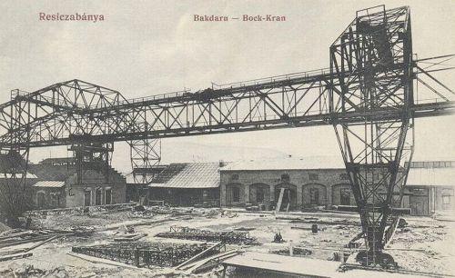 Resiczabánya:Bak daru.1910