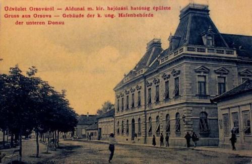 Orsova:aldunai hajózási hatóság.1909