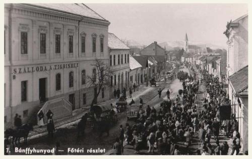 Bánffyhunyad:Szálloda a Tigrishez.1941
