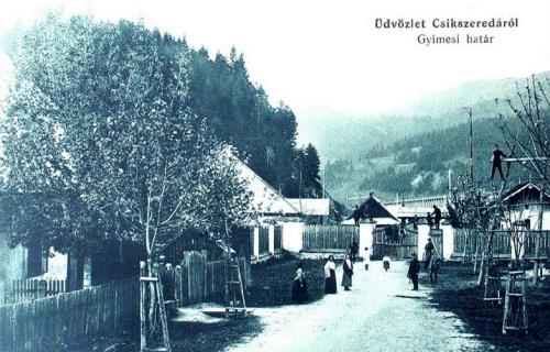 Gyimes:határ.1913