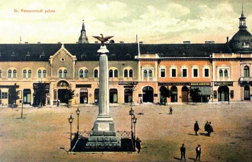Dés:szent Ferenc rendi palota.1913