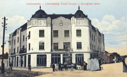 Karánsebes:Korongi palota (Kaszinó).1913