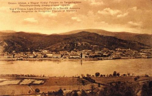 Orsova:látkép.1912