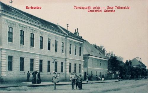 Karánsebes:Törvényszéki palota.1908