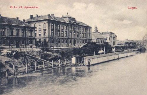 Lugos:Magyar Királyi Állami Főgimnázium.1908