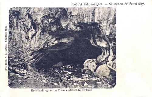 Petrozsény:Boli barlang.1906