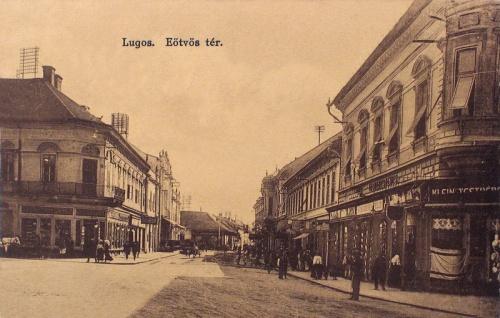 Lugos:Eötvös tér.1912