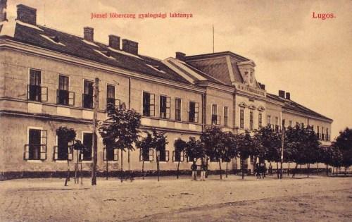 Lugos:József főherceg gyalogsági laktanya.1912