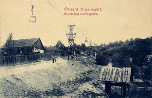 Petrozsény:sodrony pálya.1909