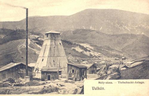 Vulkán:mély akna.1912