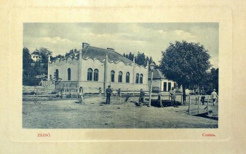 Zsibó:Kaszinó.1912
