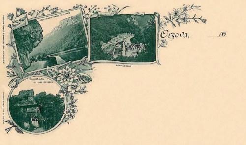 Orsova:Kazán szoros,Herkulesfürdő.1897