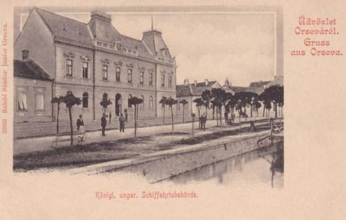 Orsova:Hajó utazási Hatóság.1905