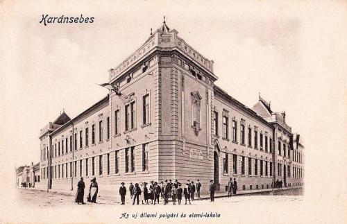 Karánsebes:polgári és elemi iskola.1903