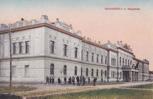 Nagykároly:Megyeháza.1916