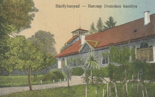 Bánffyhunyad:Barcsay Domokos kastélya.1912