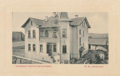 Bánffyhunyad:Magyar Királyi Posta Hivatal.1911