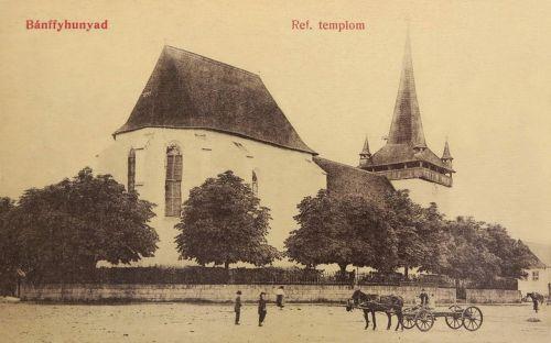 Bánffyhunyad:református templom.1908