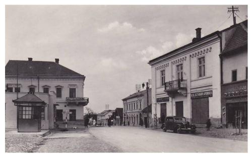 Bánffyhunyad:főtér.1942