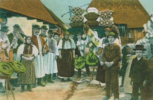 Bánffyhunyad:népviselet.1912