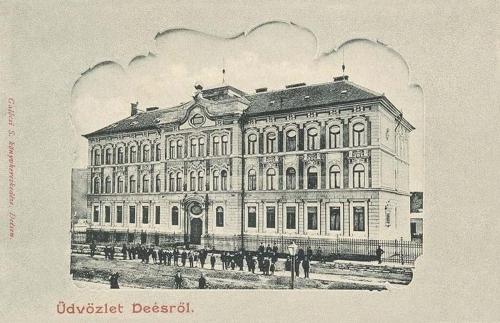 Dés-Deesch-Dej: gimnázium.1902