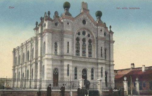 Dés-Deesch-Dej:izraelita ortodox zsinagóga.1913