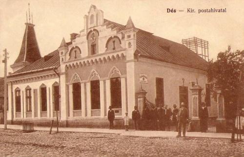 Dés:Királyi Posta Hivatal.1915