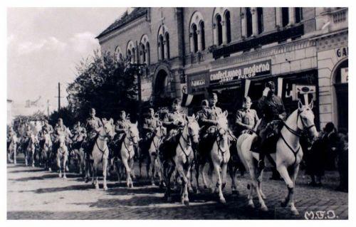 Dés:magyar honvédek bevonulása.1940