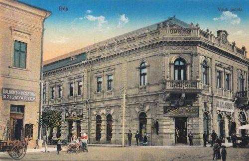 Dés:Voith palota,balra szijgyártók.1913