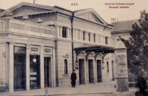 Dés:Szolnok Doboka megyei Nemzeti Szinház.1911