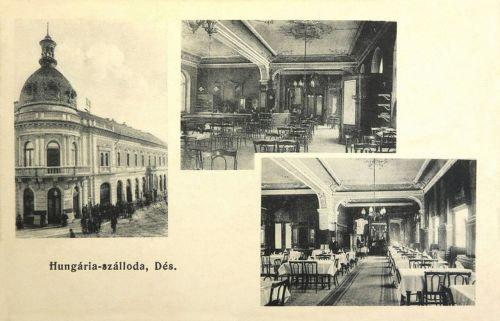 Dés:Hungária szálloda és étterem.1907