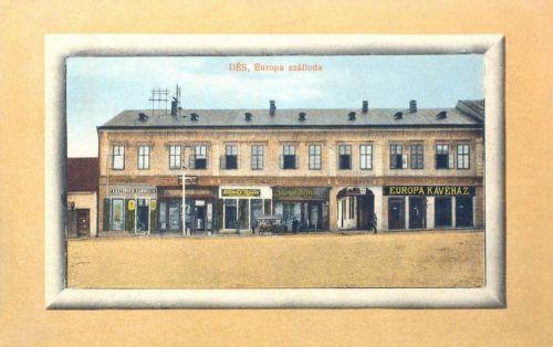 Dés:Europa szálloda és kávéház.110
