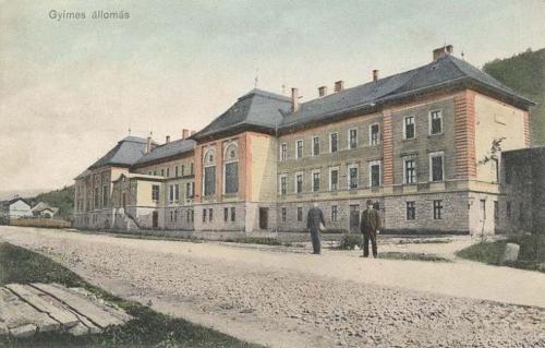 Gyimes-Ghimes:vasútállomás (pályaudvar).1911