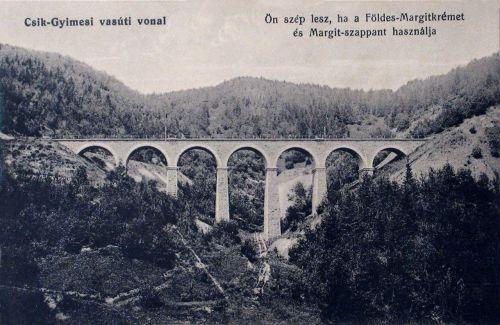 Csik-Gyimes:vasúti hid.1915