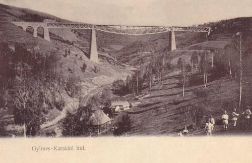 Gyimes:Karakkó hid.1903