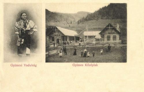 Gyimes Középlak:vendéglő,kávéház és vadvirág,1904.