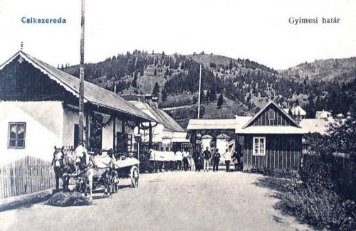 Gyimes:magyar -román határ.1916