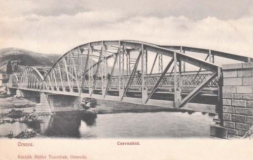 Orsova:Cserna hid.1904