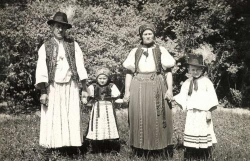 Kalotaszegi népviselet,1943