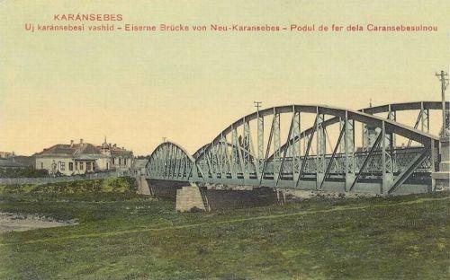 Karánsebes:új vashid.1911
