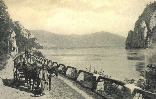 Kazán-szoros:vándor cigány család,1904.