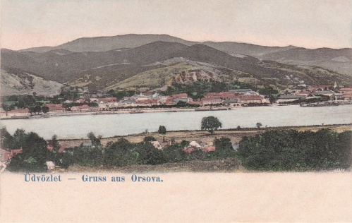 Orsova:látkép.1902