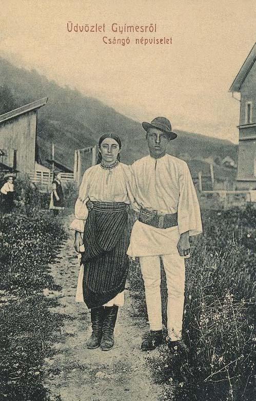 Gyimes:csángó népviselet.1909