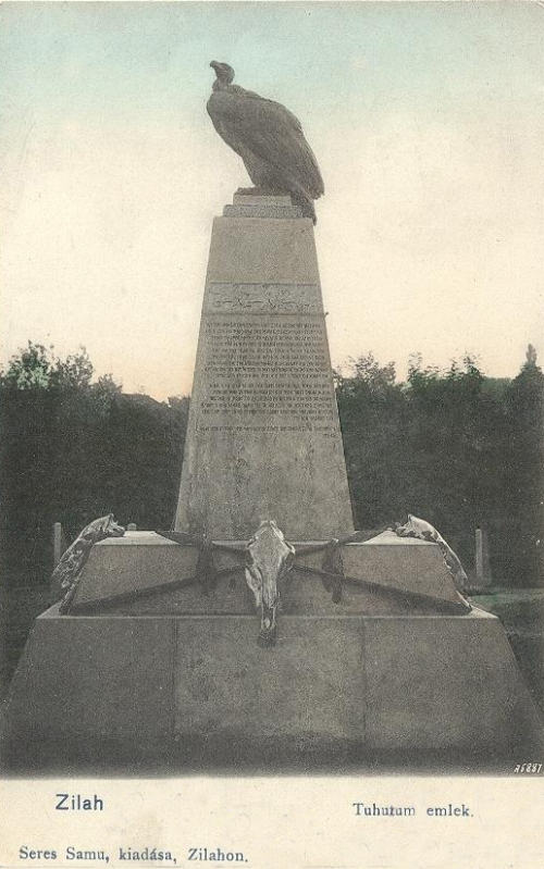 Zilah:Tuhutum emlék.1904