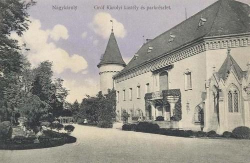 Nagykároly:gróf Károlyi kastély.1911