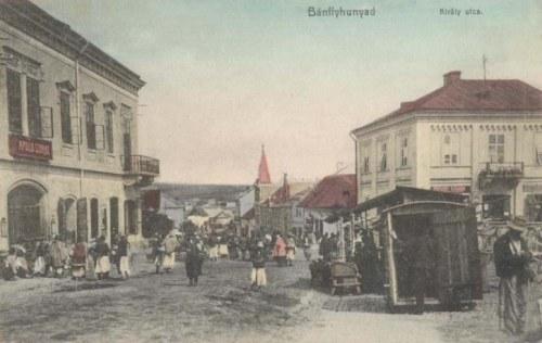 Bánffyhunyad:Király utca.1911
